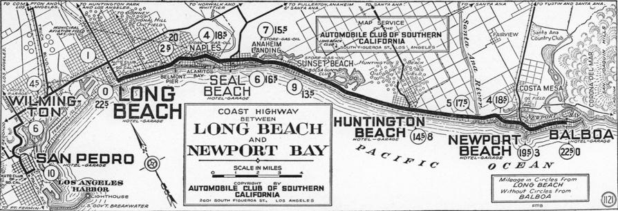 Long Beach The Coast Road