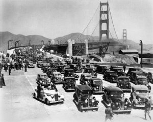 Opening Day, Golden Gate Bridge, 28th May 1937