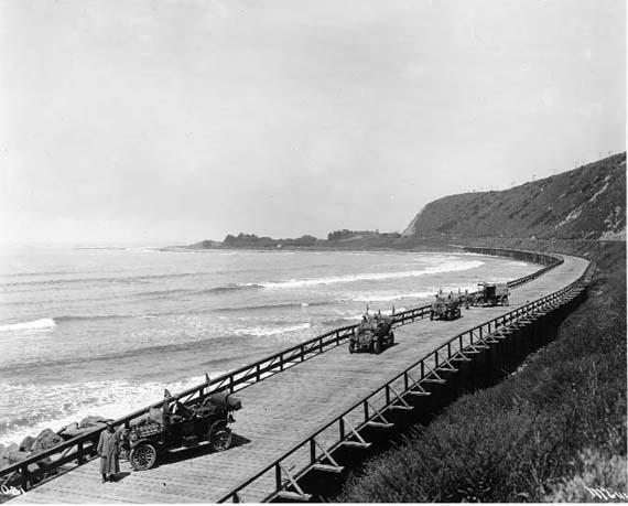 Ventura Causeway - 1912