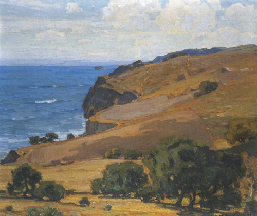 California Coast by William Wendt