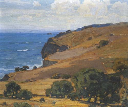 California Coast by William Wendt