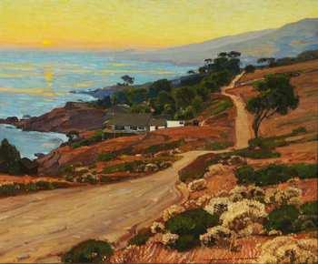 Old Coast Road, 1916 - William Wendt