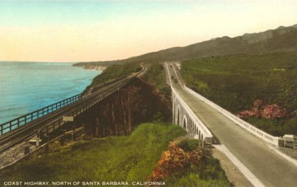 Coast Highway north of Santa Barbara